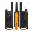 Motorola TALKABOUT T82 Extreme PMR446, Quad Pack ze tří pohledů