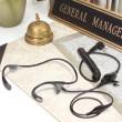 PMLN5003 Temenní audio souprava pro radiostanice Motorola na stole