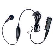 PMLN5733 Sluchátko do ucha, mikrofon s PTT pro radiostanice Motorola DP2000 řady