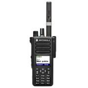 Motorola DP4800 UHF - digitální radiostanice, čelní pohled