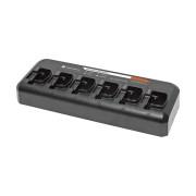 PMLN6602 Stolní 6 pozicový nabíječ pro Motorola P145, P165 a P185