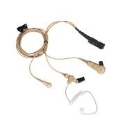 PMLN6755 Sluchátko do ucha s zvukovodem, samostatný mikrofon a PTT IMPRES pro Motorola DP2400, DP2600, DP3441 a DP3661
