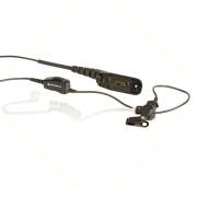 NNTN8459 Sluchátko se zvukovodem, mikrofon s PTT