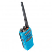 Motorola GP340 ATEX Blue UHF MDH25RCC4AN3BEA  - horní strana radiostanice