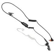 PMLN7158 Sluchátko do ucha se zvukovodem, mikrofon s PTT/VOX pro Motorola SL1600 a Motorola SL4000 řadu