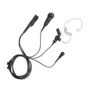 PMLN6754 Sluchátko do ucha s zvukovodem, samostatný mikrofon a PTT - určené pro Motorola DP2000 řadu a DP3441, DP3661