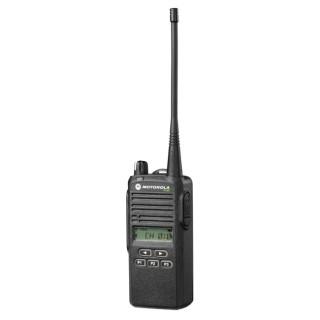 Radiostanice Motorola P 165 - přenosná profesionílní vysílačka, pohled z předu