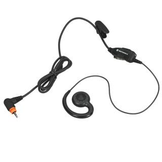 PMLN7189 Sluchátko na ucho, mikrofon s PTT pro radiostanice Motorola SL1600 a SL4000 řadu