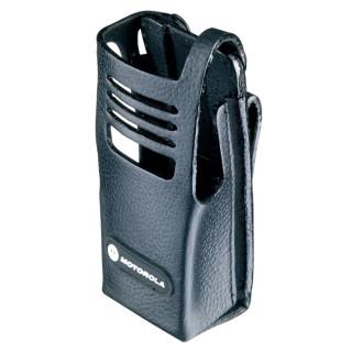 PMLN5030 Pouzdro z tvrdé kůže pro radiostanice Motorola DP340x