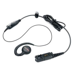 PMLN5727 Otočné sluchátko na ucho, mikrofon s PTT MagOne pro Motorola DP3441, DP2400 a DP2600