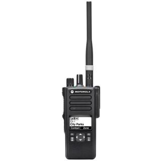 Motorola DP 4601 VHF, GPS, BT - čelní pohled