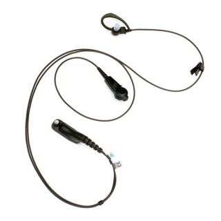 PMLN6127 Sluchátko do ucha, mikrofon kombinovaný s PTT pro Motorola DP4000 a DP3000 řadu