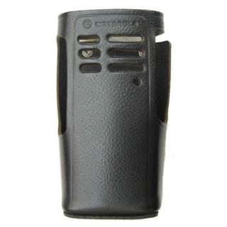 HLN9676 Kožené pouzdro s opaskovým okem pro Motorola GP bez displeje
